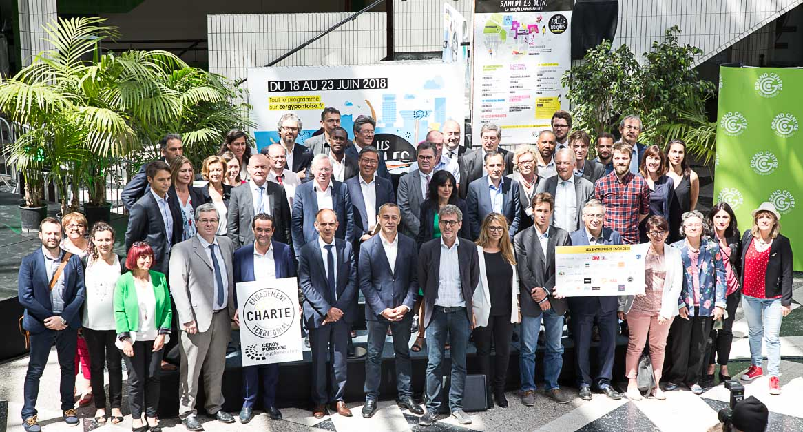 Photo de groupe charte territoriale