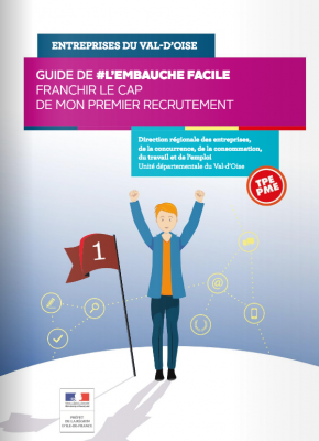 Couverture du guide de l'embauche facile 2017