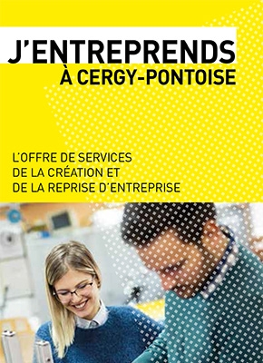 Couverture J'entreprends à Cergy